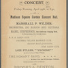Banjo, Mandolin and Guitar Concert - Madison Square Garden Concert Hall