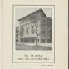 Theatre des Champs-Elysees booklet