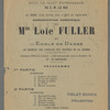 Representation Panegyrique de Miss Loie Fuller et son Ecole de Danse
