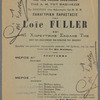 Representation Panegyrique de Miss Loie Fuller et son Ecole de Danse.