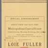 Loie Fuller - Boston Opera House