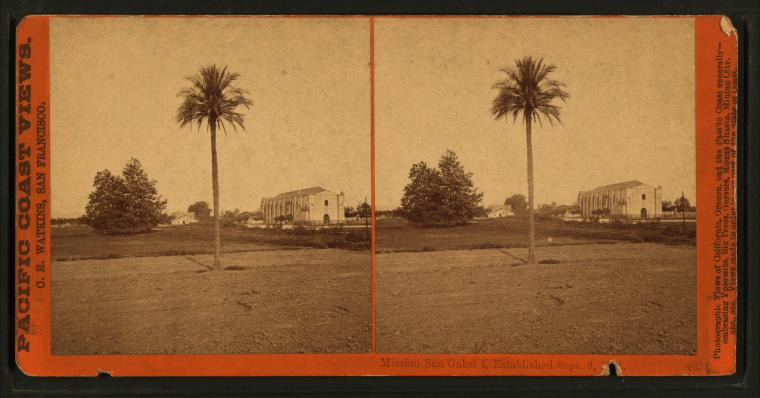 Fascinating Historical Picture of Mission San Miguel Arcangel in 1880