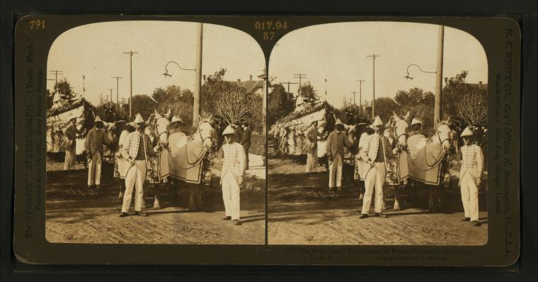 Fascinating Historical Picture of Tournament of Roses in 1906