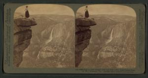 Nearly a mile straight down, a... Digital ID: G89F396_046F. New York Public Library