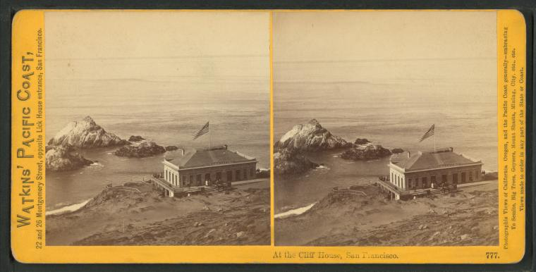 Fascinating Historical Picture of Cliff House in 1866