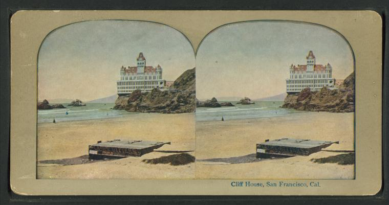 Fascinating Historical Picture of Cliff House in 1896