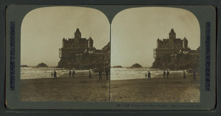 This is What Cliff House Looked Like  in 1896