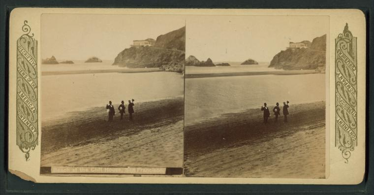Fascinating Historical Picture of Cliff House in 1885