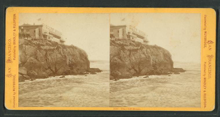 Fascinating Historical Picture of Cliff House in 1879