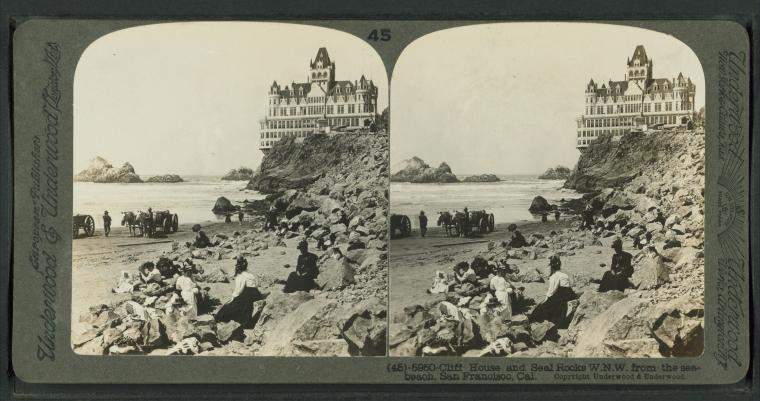 This is What Cliff House Looked Like  in 1902