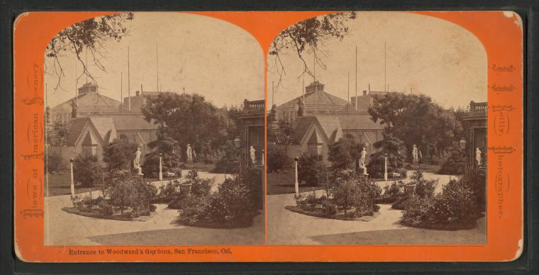 Fascinating Historical Picture of Woodwards Gardens in 1880