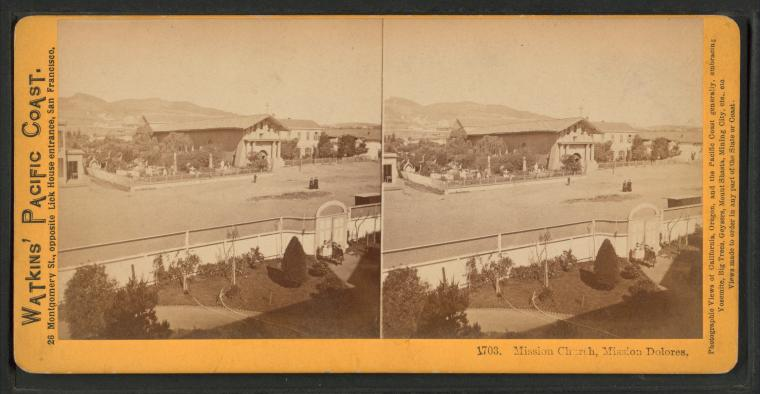 Fascinating Historical Picture of San Francisco de Asi?s Mission in 1870