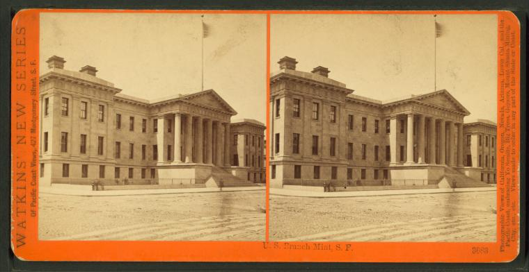 Fascinating Historical Picture of United States. Bureau of the Mint in 1873