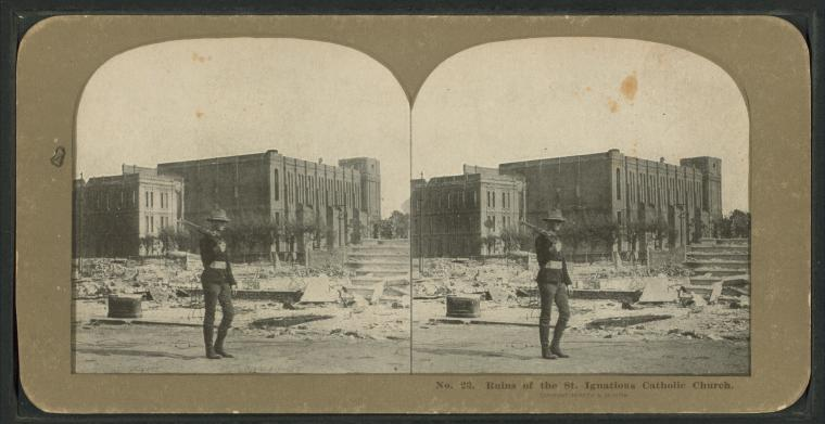 This is What California. National Guard Looked Like  in 1906