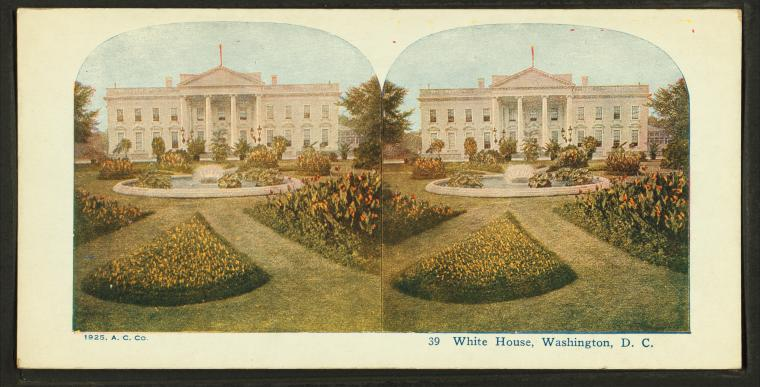 This is What White House Looked Like  in 1865