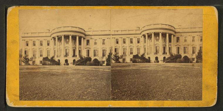 This is What G. D Wakely and White House Looked Like  in 1865