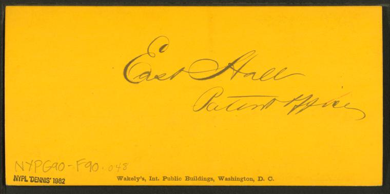 This is What G. D Wakely and East Hall Patent Office Looked Like  in 1865