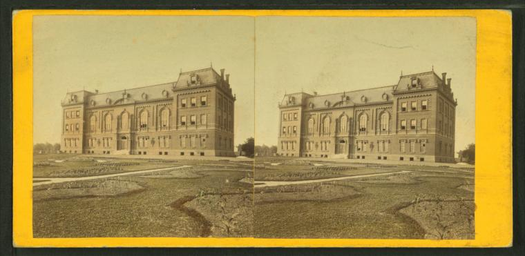 This is What G. D Wakely and Department of Agriculture Looked Like  in 1865