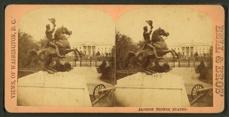 This is What White House Looked Like  in 1867