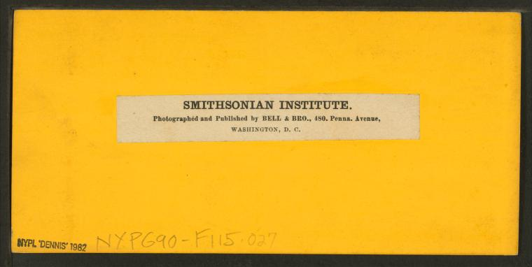 This is What Smithsonian Institution Looked Like  in 1859