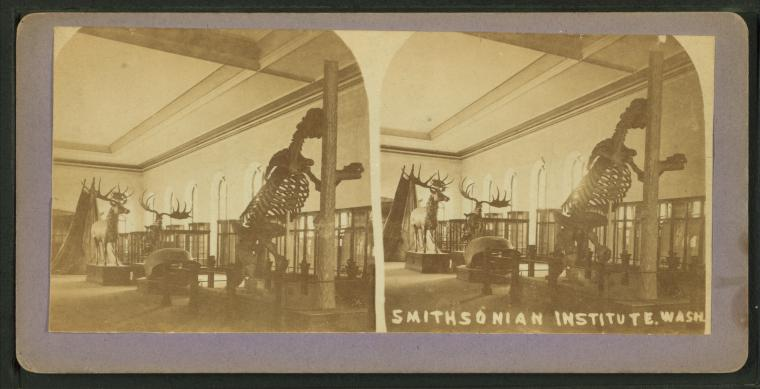 This is What Smithsonian Institution Looked Like  in 1865