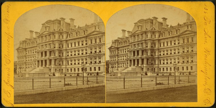 Fascinating Historical Picture of United States. Dept. of State in 1875