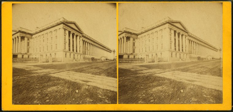 This is What Treasury Building Looked Like