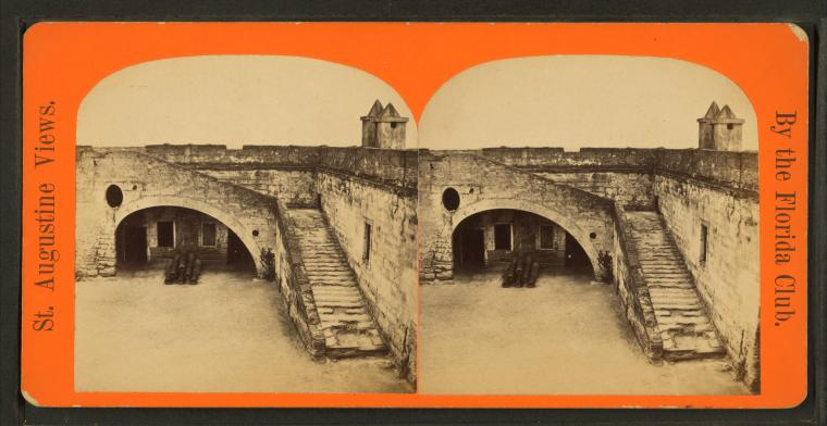 This is What Castillo de San Marcos Looked Like  in 1880