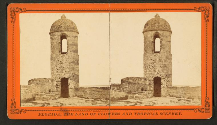 This is What Castillo de San Marcos Looked Like
