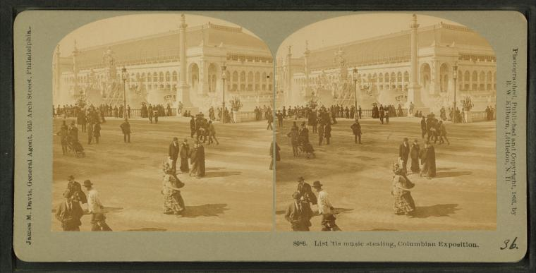 Fascinating Historical Picture of Worlds Columbian Exposition in 1893