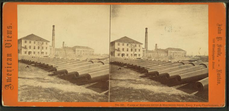 This is What Charlestown Navy Yard Looked Like