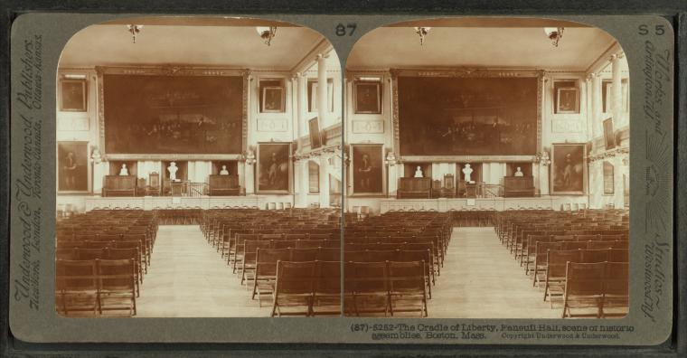 This is What Faneuil Hall Looked Like  in 1903