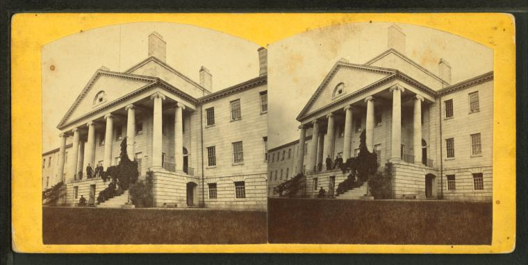 Fascinating Historical Picture of Massachusetts General Hospital in 1863
