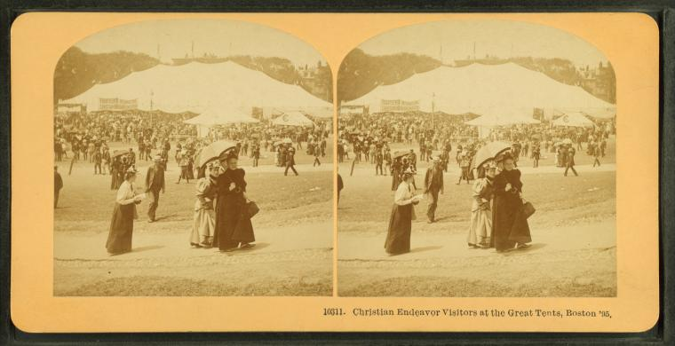 Fascinating Historical Picture of United Society of Christian Endeavor in 1895