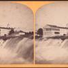 [Rapids and Cataract House, Niagara.]