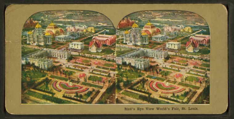 This is What Louisiana Purchase Exposition Looked Like  in 1904