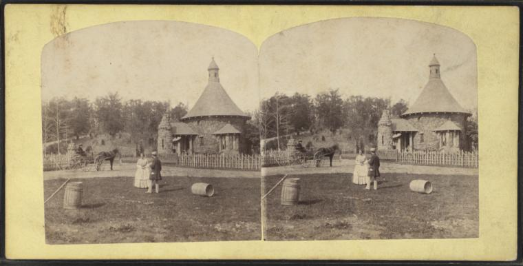 Fascinating Historical Picture of Haskell, Llewellyn in 1860