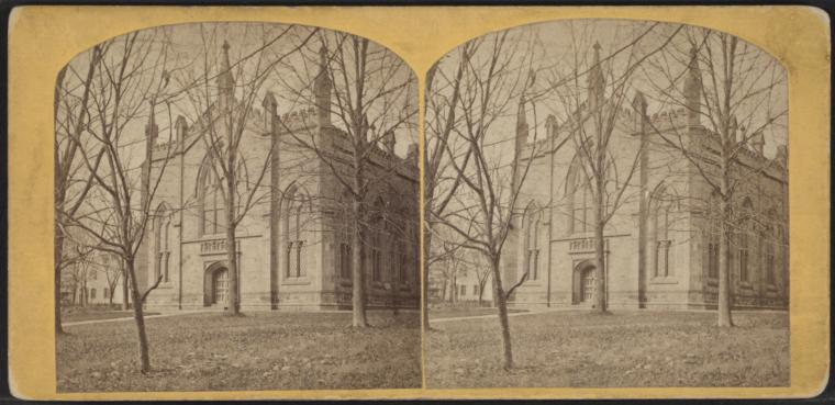 Fascinating Historical Picture of Princeton Theological Seminary in 1870