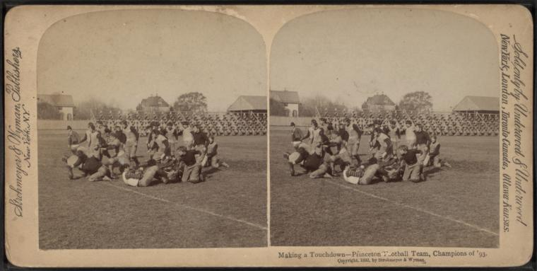 Fascinating Historical Picture of College of New Jersey in 1893