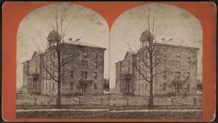 This is What Princeton Theological Seminary Looked Like  in 1860