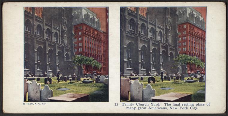 Fascinating Historical Picture of Trinity Church in 1925