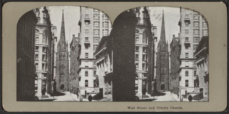Fascinating Historical Picture of Trinity Church in 1900