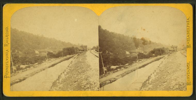 This is What W. T. Purviance and Pennsylvania Railroad Looked Like  in 1870