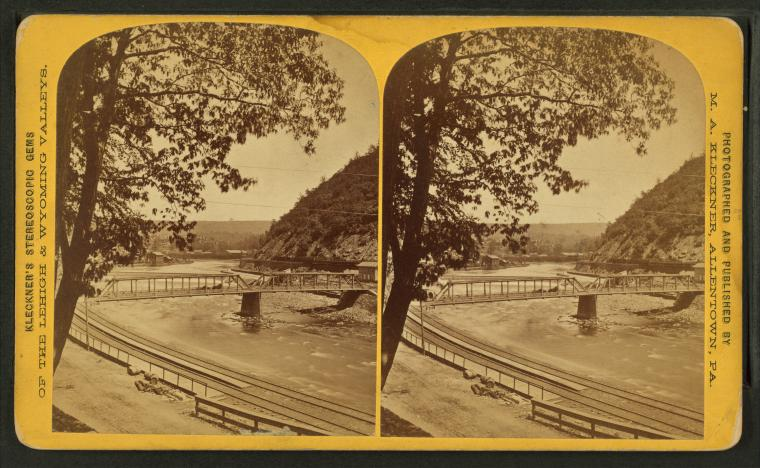 This is What Lehigh Valley Railroad Company Looked Like