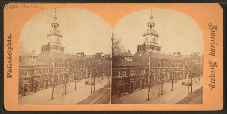 This is What Independence Hall Looked Like