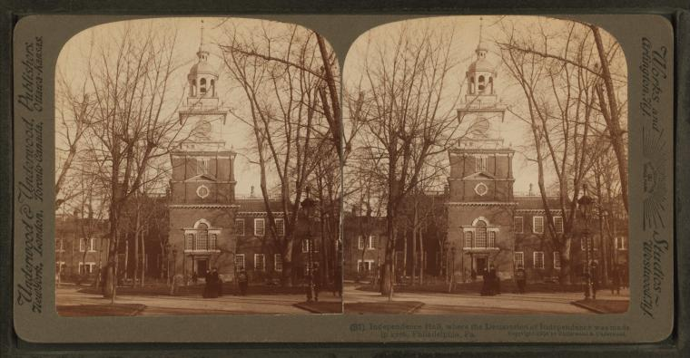 This is What Independence Hall Looked Like  in 1904