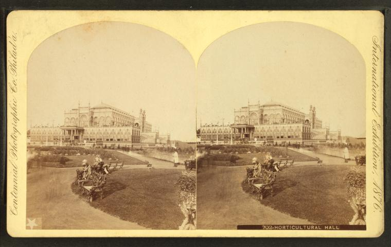 This is What Centennial Exhibition Looked Like  in 1876