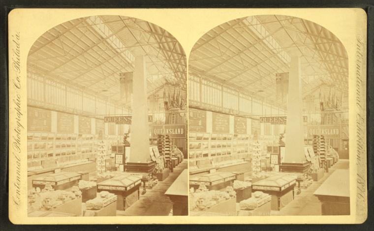 Fascinating Historical Picture of Centennial Exhibition in 1876