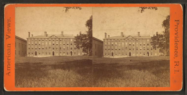 Fascinating Historical Picture of Brown University in 1875