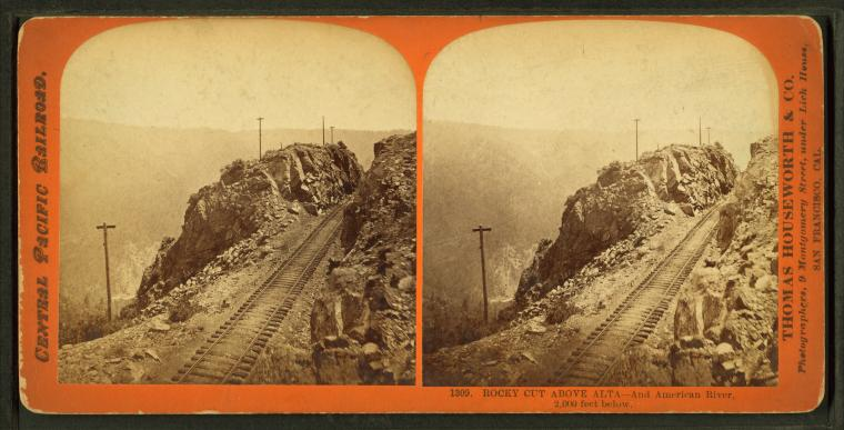 Fascinating Historical Picture of Central Pacific Railroad Company